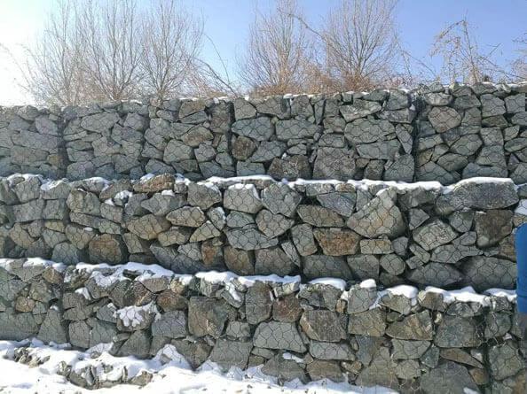 石笼格宾网组装