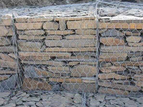 格宾石笼河道治理,格宾石笼网护坡