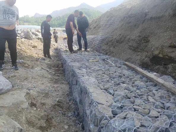 堤坡防护格宾护垫