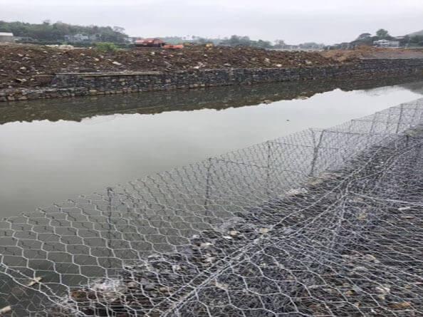河道石笼网护垫,护坡石笼网护垫