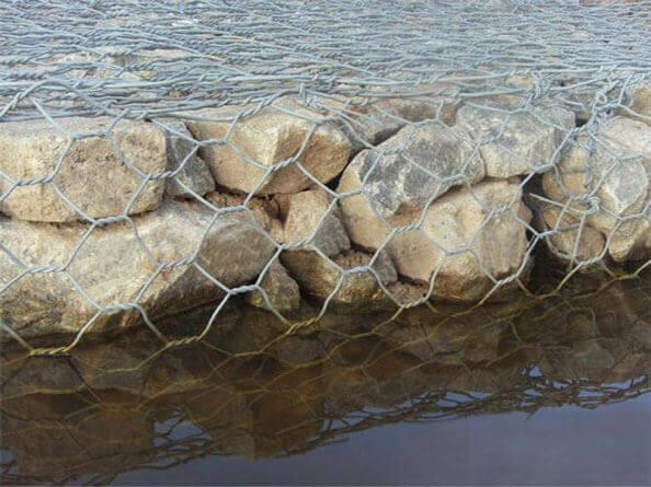 锌铝合金雷诺护垫护岸